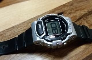 Reloj Digital Vintage Retro Digital Alarma Crono Iluminator.