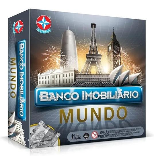 Jogo De Tabuleiro Banco Imobiliário Mundo Estrela Original