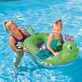Bote Dragon Inflable Bestway Pileta 101 X 84 Cm.