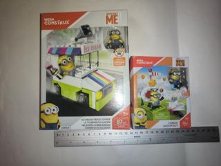 Minions Ice Cream Truck & Cheese Shootout Mega Construx