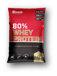 Whey Protein Concentrado 1kg Growth Suplements
