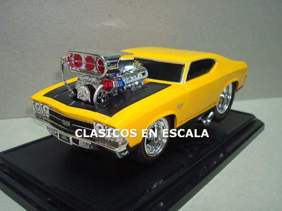 Chevrolet Chevelle 1969 Drag - Maisto Muscle Machines 1/24