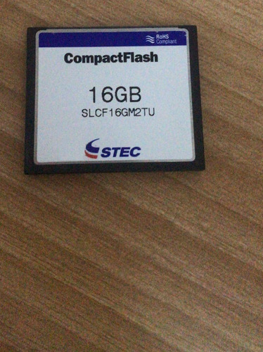 Compact Flash 16 Gigas