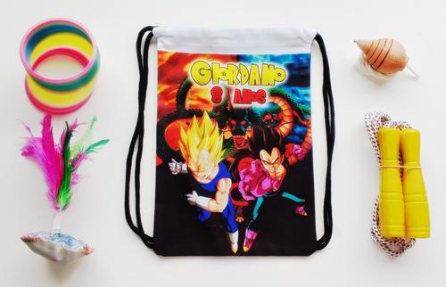 Imagem 1 de 1 de Lembrancinha Dragon Ball Vegeta Mochila Boa Infância / 40