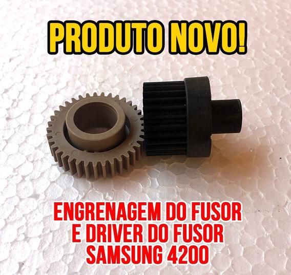 Engrenagem Do Rolo Fusor + Engrenagem Driver Samsung Scx4200