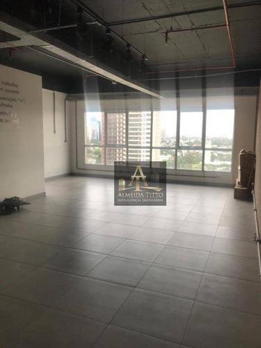 Excelente Sala Para Locação, 61,32 M² Por R$ 2500/mês - Alphaville Conde Ii - Barueri/sp - Sa0592