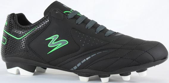 Tenis Futbol Soccer Pasto Modelo 430 Negro/ Negro/ Oxford