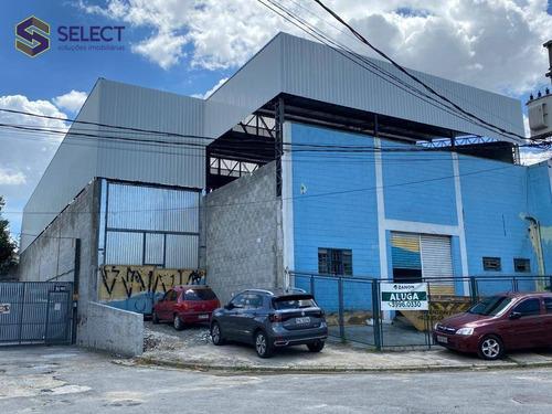 Galpão Para Alugar, 750 M² Por R$ 24.000,00/mês - Chácara  Dublin Paulista - São Bernardo Do Campo/sp - Ga0043