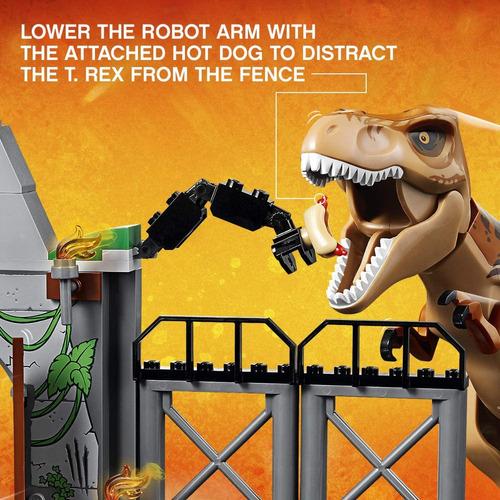 Lego Juniors/4+ Jurassic World T. Rex Breakout 10758 150 Pza