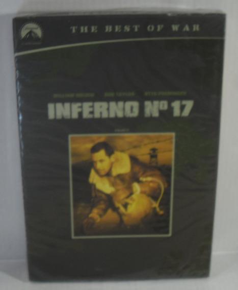 Dvd - Inferno Nº 17 - William Holden - Lacrado Fabrica Luva