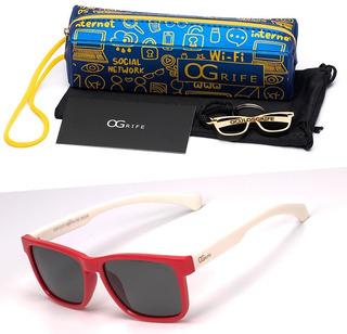 Oculos Ogrife Solar Infantil Og 967-i Flexível Polarizado