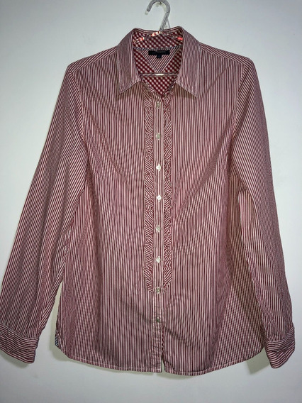 Camisa De Mujer Marca Tommy Hilfiger Talle Xl Impecable
