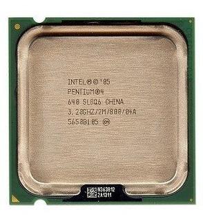 Procesadores De Cpu,intel Pentium 4 640 3.2ghz 800mhz 2m..