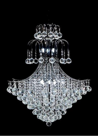 Lustre Pendente Imperial Diamante Cristal !