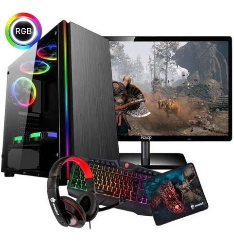 Imagem 1 de 1 de Pc Gamer Completo A6 7480 / 4gb / 320gb / Frete Grátis.