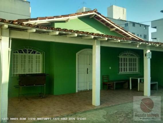 Casa Para Temporada Em Guarapari, Praia Do Morro, 7 Dormitórios, 2 Suítes, 5 Banheiros, 4 Vagas - Casa Vanderléia