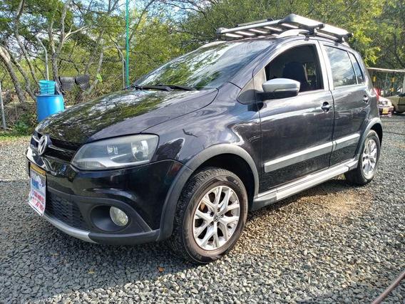 Volkswagen Crossfox Motor 1.6 2015 Negro 5 Puertas