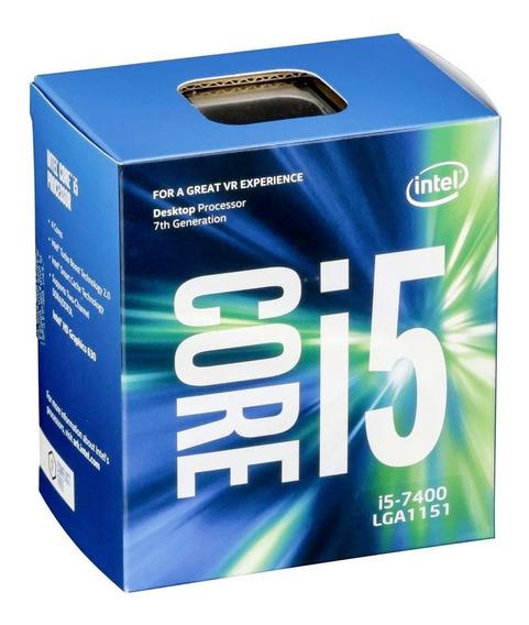 Micro Procesador Intel I5 7400 3.00ghz 7ma Gamer Diseño