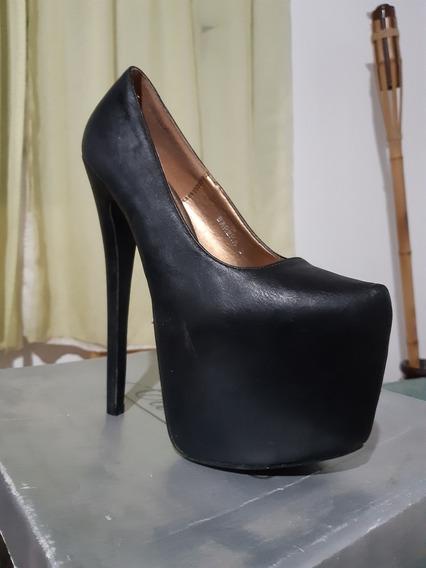 Zapato De Taco Alto
