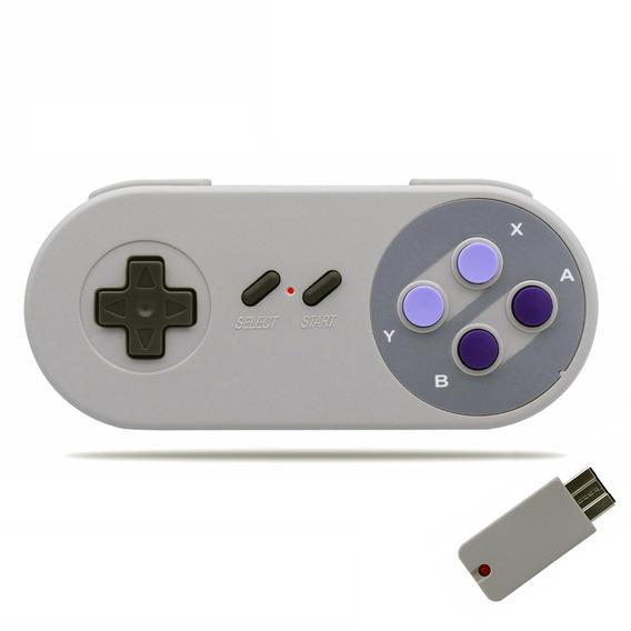 Kitbon 2.4ghz Controlador Jogo Sem Fio Para Nintendo Super N