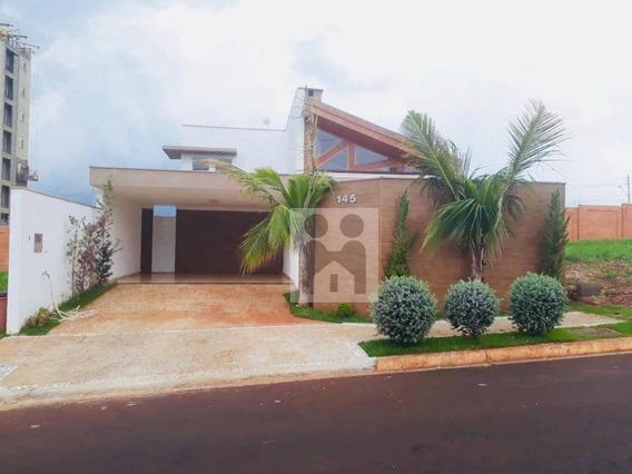 Casa Com 3 Dormitórios À Venda, 174 M² Por R$ 730.000 - Bonfim Paulista - Ribeirão Preto/sp - Ca0285