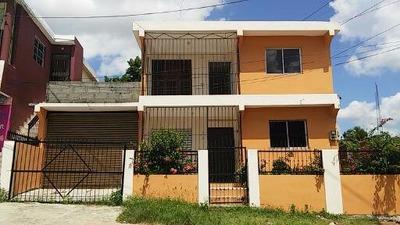 Casa Duplx En Conani De 3 Hab, 2 Baños, Marquesina