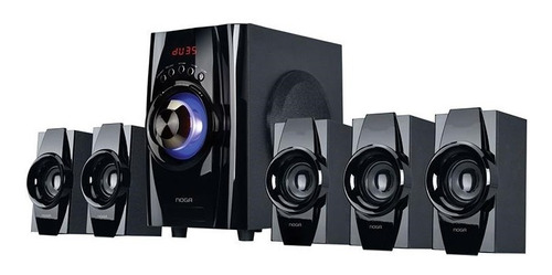Home Theater 5.1 Parlantes Pc Bluetooth Tv Usb Fm Noga Niza