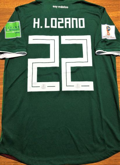 Camisa México Copa 2018 De Jogo Autografada Todo Elenco
