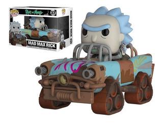 Funko Pop - Rick And Morty -mad Max Rick- Pop Rides