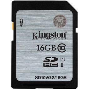 Cartão Memória Kingston Sdhc 16 Gb Desempenho Frete Grátis
