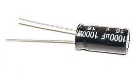 Capacitor Eletrolítico 1000uf X 16v 105° - 4 Unidades