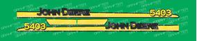 Adesivo Personalizar Trator John Deere 5403
