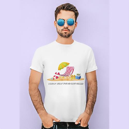 Imagem 1 de 2 de Camiseta Eu Sei O Que Vc Fez...