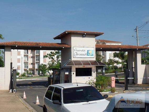 Apartamento Com 2 Dormitórios À Venda, 50 M², Vila Inema, Hortolândia/sp. - Ap6392