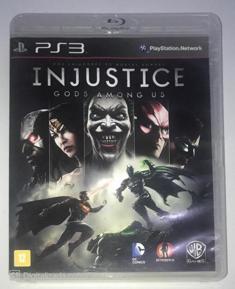 Injustice Gods Among Us (mídia Física) Ps3