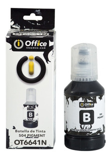 Botella De Tinta 504 Pigmentada 127ml - Office