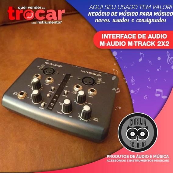 Interface De Audio M-audio M-track 2x2 M Audio M Track