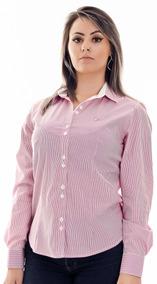 Camisa Feminina Bella - Pimenta Rosada Algodão Egípcio