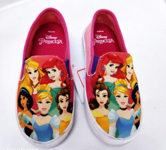 Alpargata Rosa Infantil Menina Princesas Disney Diverão 24 4