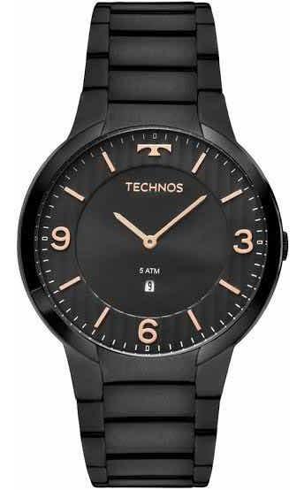 Relógio Technos Masculino Classic Slim
