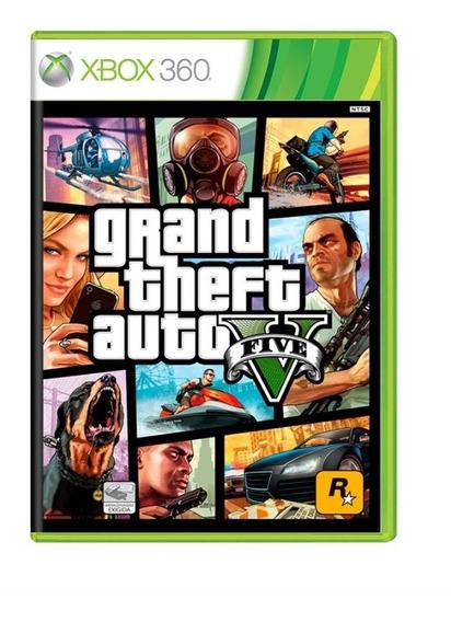 Grand Theft Auto V Xbox 360 Gta V Mídia Física Lacrado