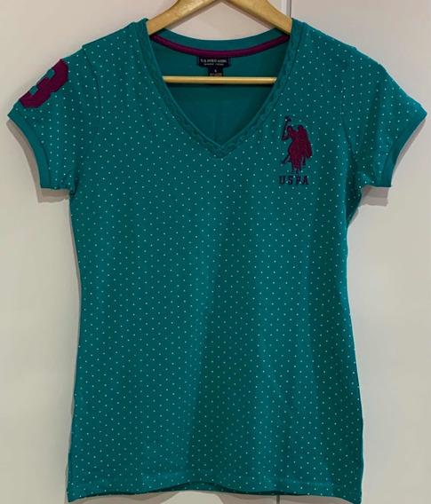 Camisa Blusa Feminina Us Polo Original