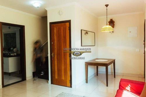 Imagem 1 de 17 de Sobrado Com 3 Dormitórios À Venda, 113 M² Por R$ 800.000,00 - Tatuapé - São Paulo/sp - So1426