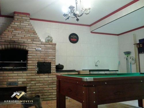 Sobrado Com 2 Dormitórios À Venda, 183 M² Por R$ 650.000 - Parque Gerassi - Santo André/sp - So0915