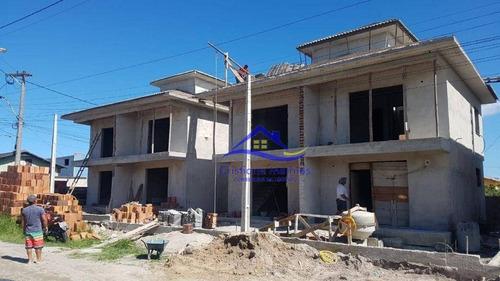Casa Duplex Com 2 Quartos À Venda, 80 M² Por R$ 285.000 - Jardim Atlântico Leste (itaipuaçu) - Maricá/rj - Ca0929