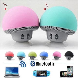 Parlante Portatil Bluetooth Sy-068 Honguito Micro Sd Aux Fm