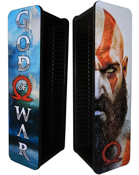 Porta Jogos Ps4 Ps3 Xbox One Blu-ray God Of War