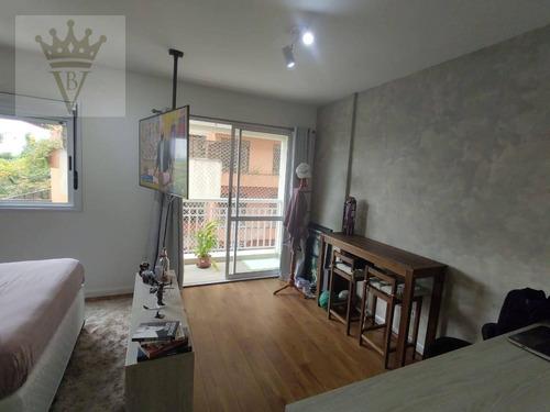 Studio Com 1 Dormitório À Venda, 32 M² Por R$ 300.531 - Panamby - São Paulo/sp - St0063