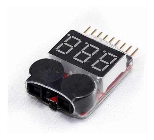 Salva Lipo Tester Medidor De Voltage Bateria Acustico Digita