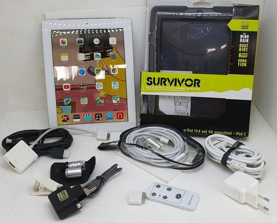 iPad 3 A1430 Wifi + 3g 64g + Combo De Acessórios = Leia!!!